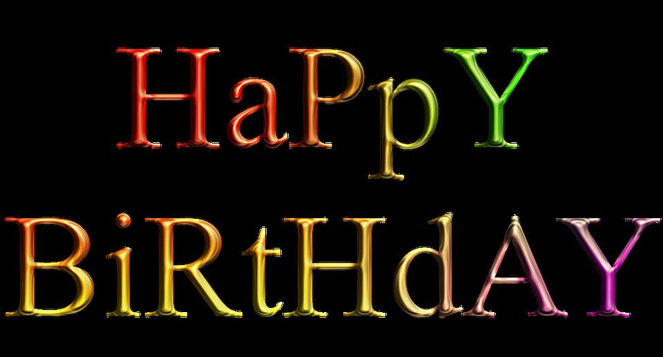 happy, birthday, text