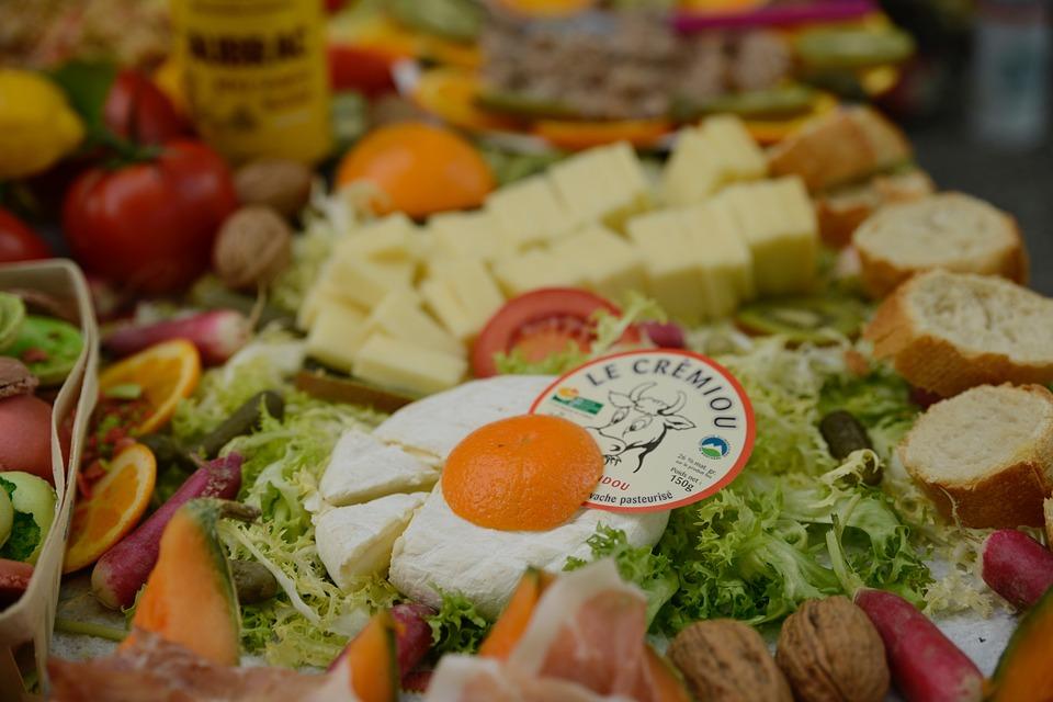 picnic, cheese, buffet