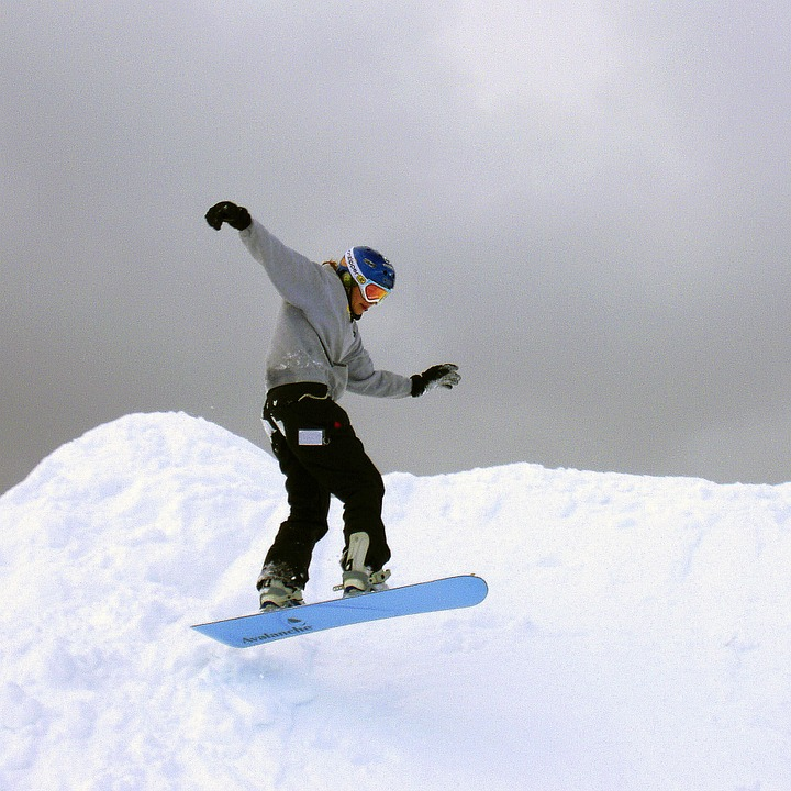 snowboarder, winter, outdoor activities
