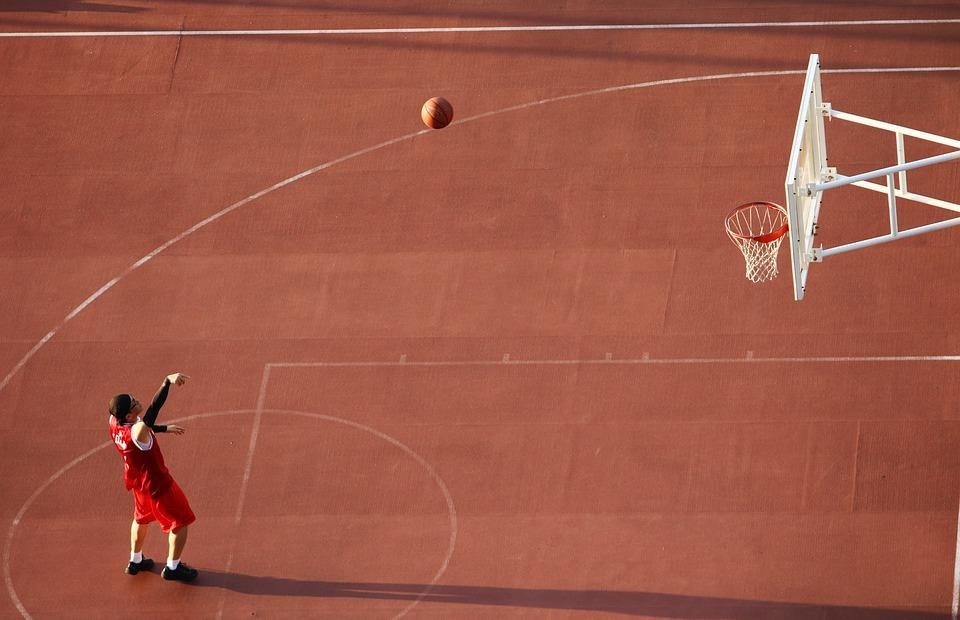 basketball, playground, basketball courts