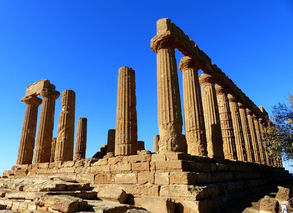 architecture, ruin, temple