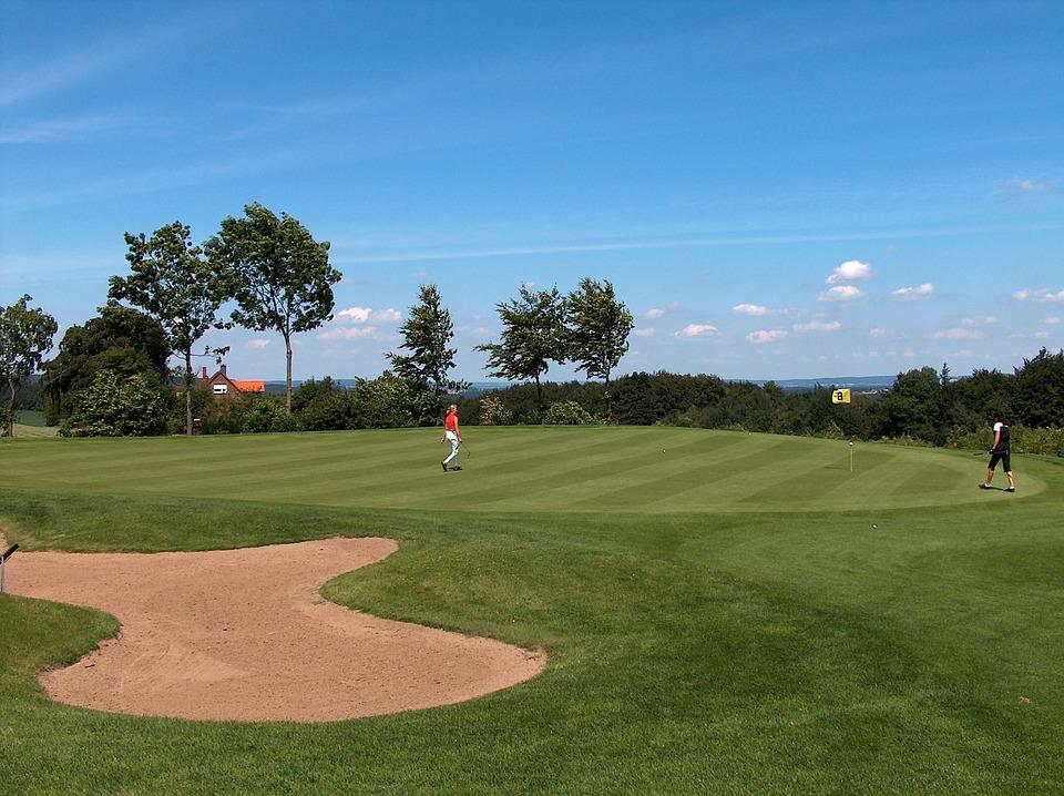 golf, golf club, rush