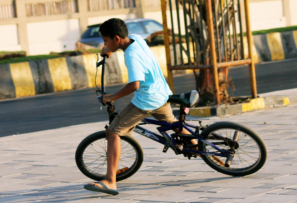 bicycle, bmx, vehicle