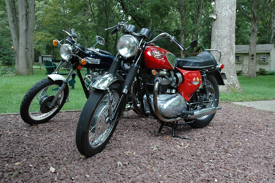 motorcycle, british, bsa
