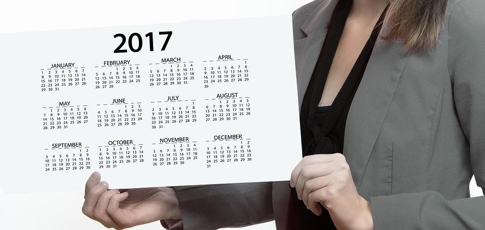 agenda, calendar, businesswoman