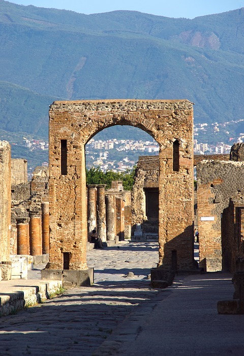 italy, pompeii, architecture