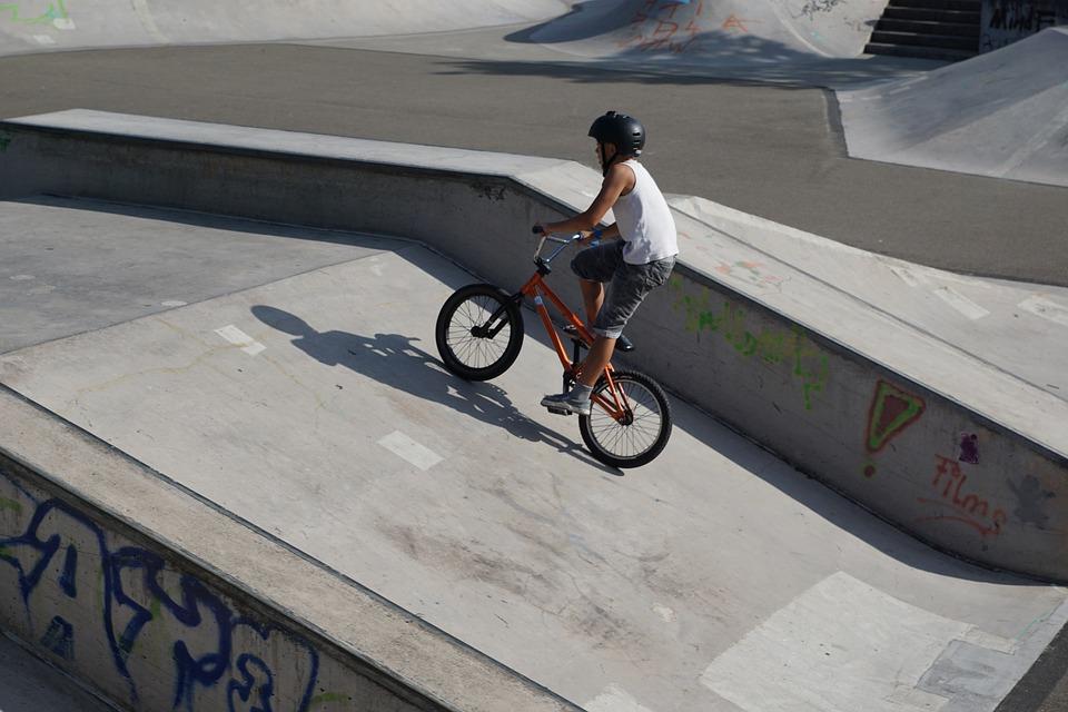 bmx, bike, drive
