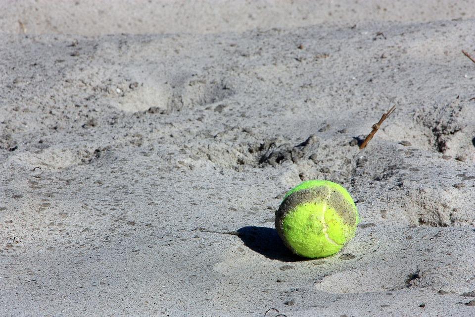 tennis ball, ball, sport