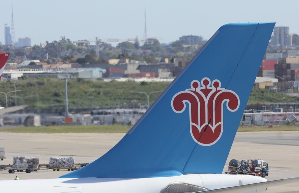 china southern airlines, decals, brand
