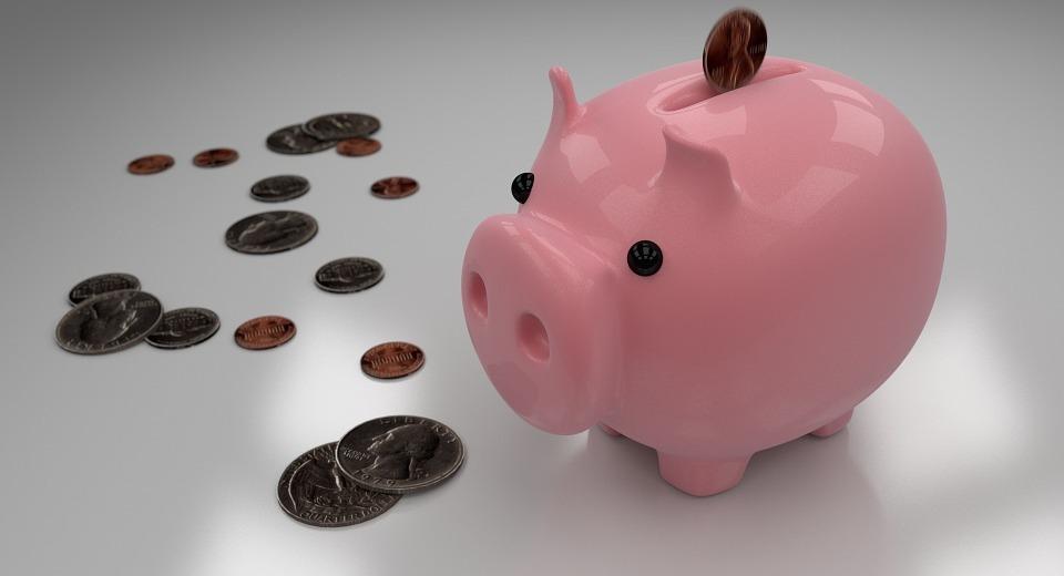 piggy bank, savings, money