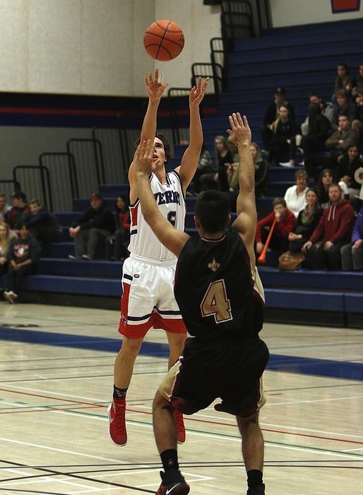 basketball, shooting, player