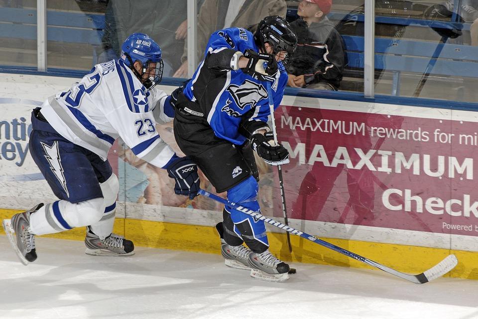 ice hockey, goal, sport