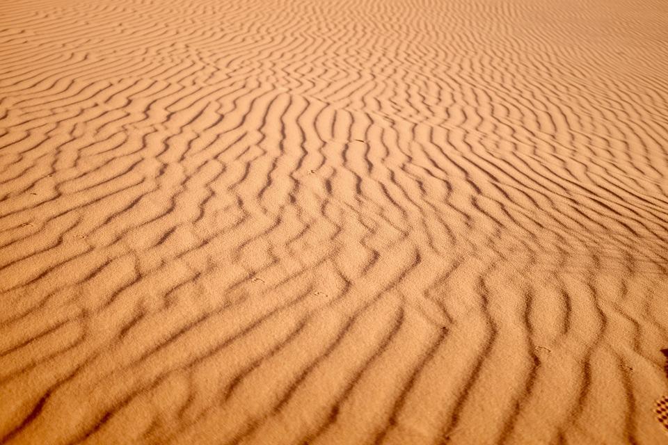 desert landscape, sand, landscape