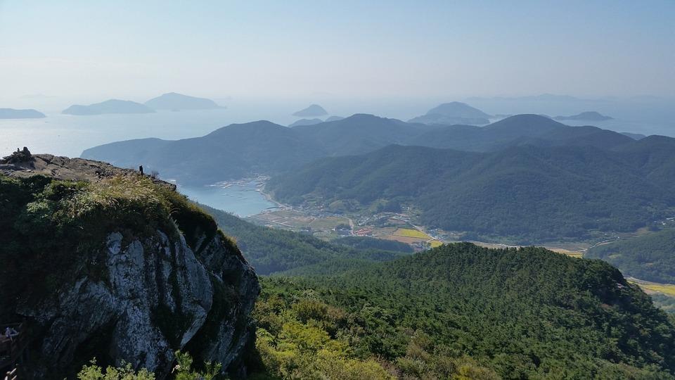 korea, tongyeong, landscape