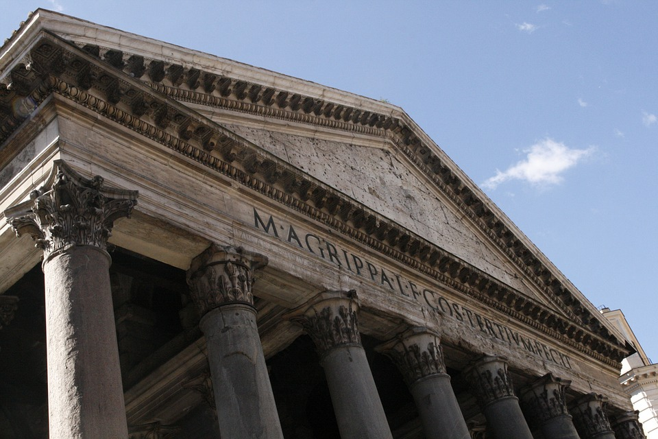 rome, pantheon, monument