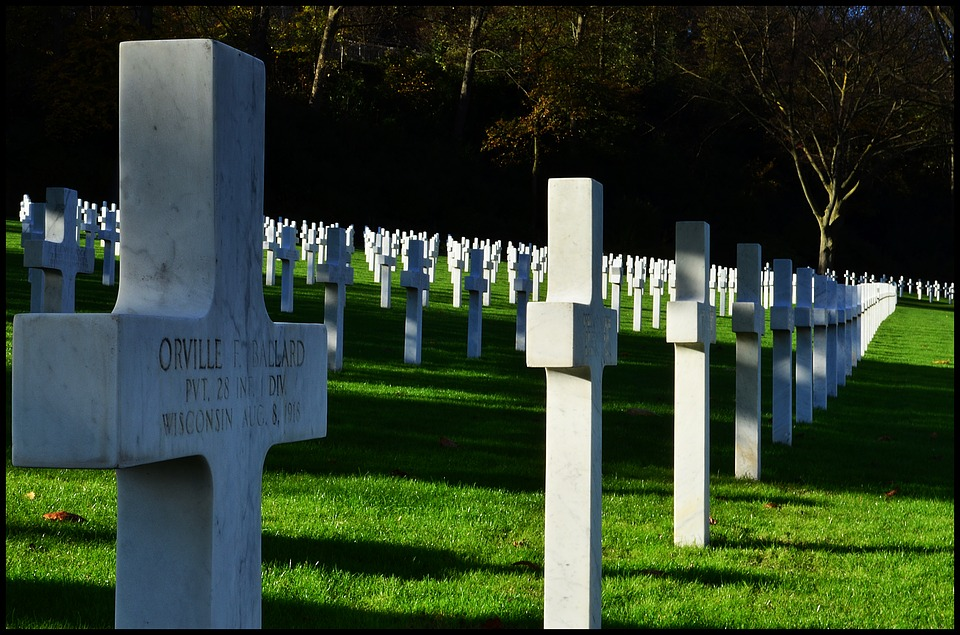 graves, american, cemetery