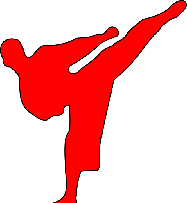 martial arts, red, fight