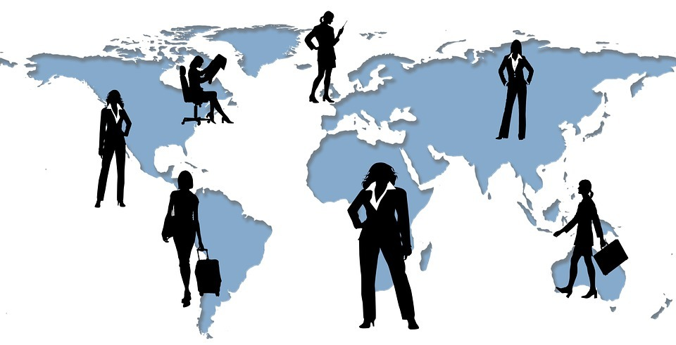executive, businesswoman, world