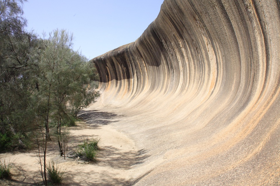 wave, rock, tourist attraction
