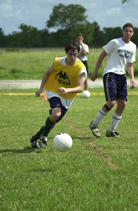 soccer, scrimmage, boys