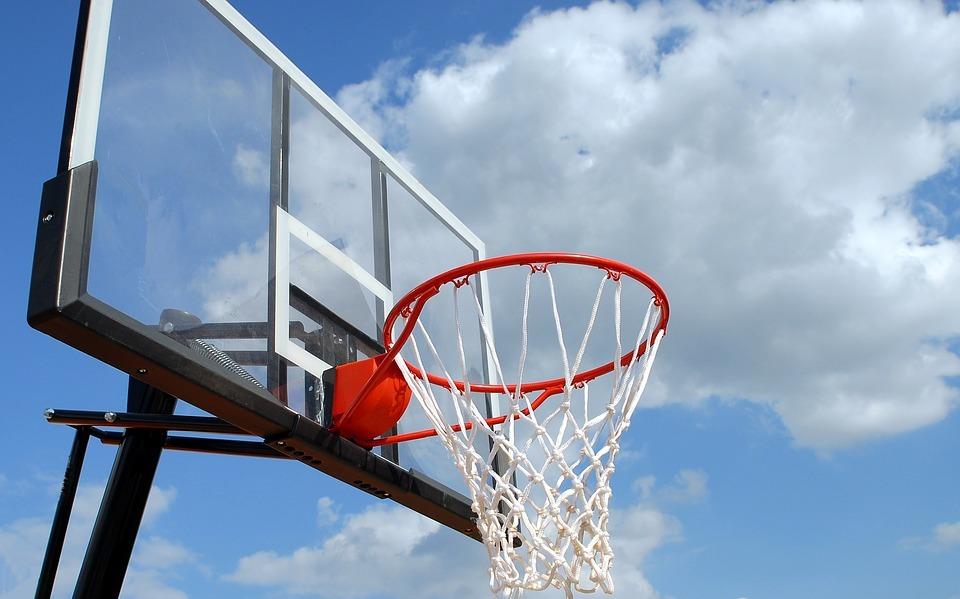 outdoor basketball, rim, net