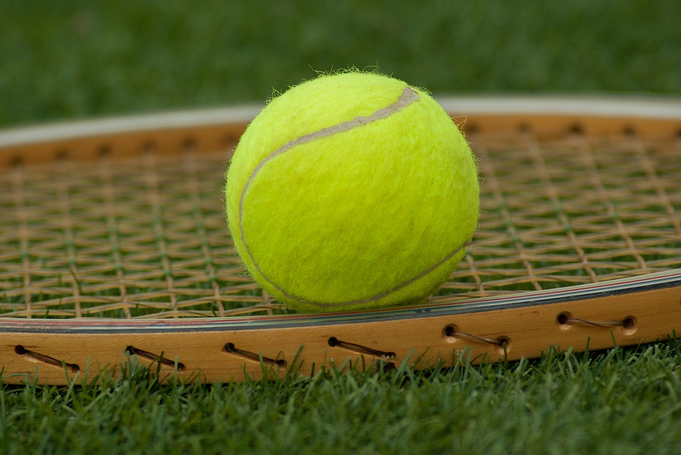 tennis ball, racket, tennis