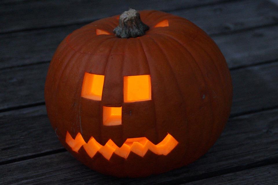 pumpkin, halloween, pumpkin face