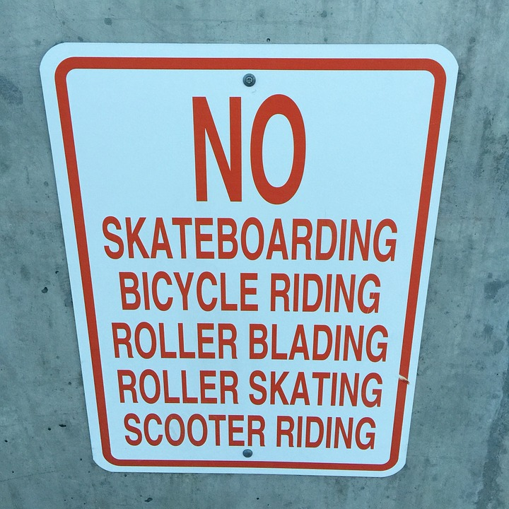 skateboard, skateboarding, bicycle