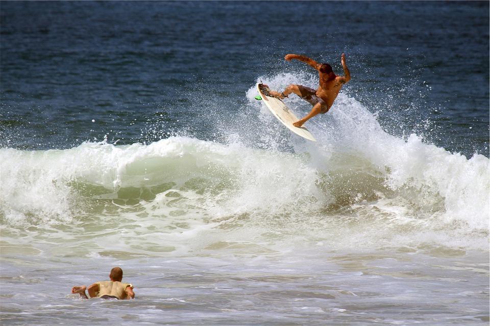surfing, surfer, surfboard