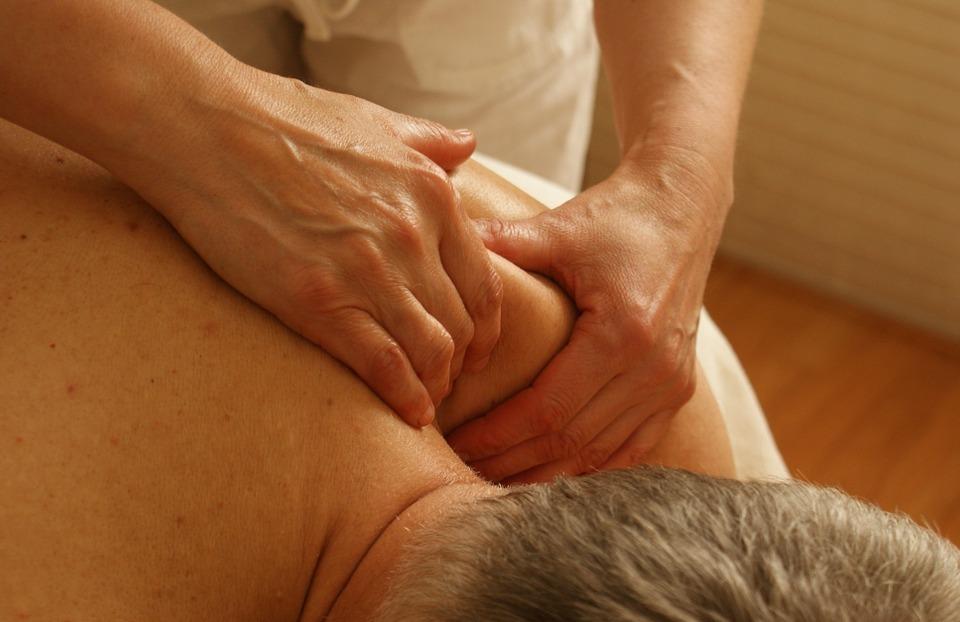 massage, shoulder, relaxation massage