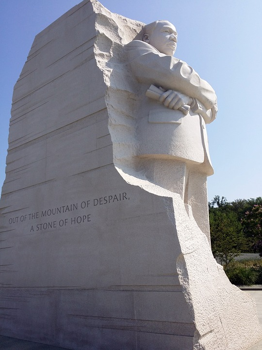 monument, martin luther king, memorial