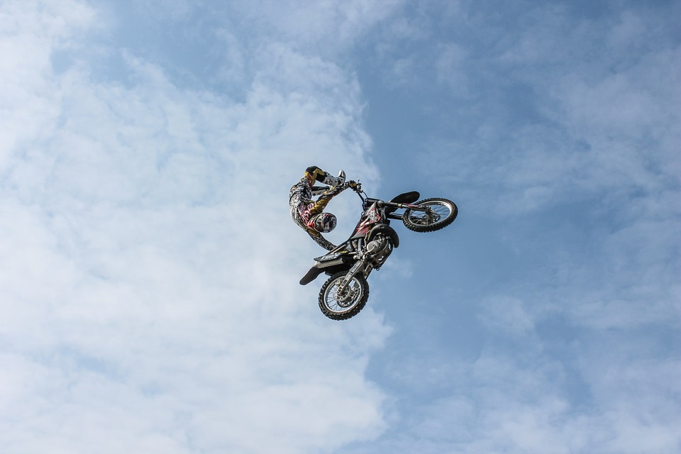 biker, motorcycle, extreme