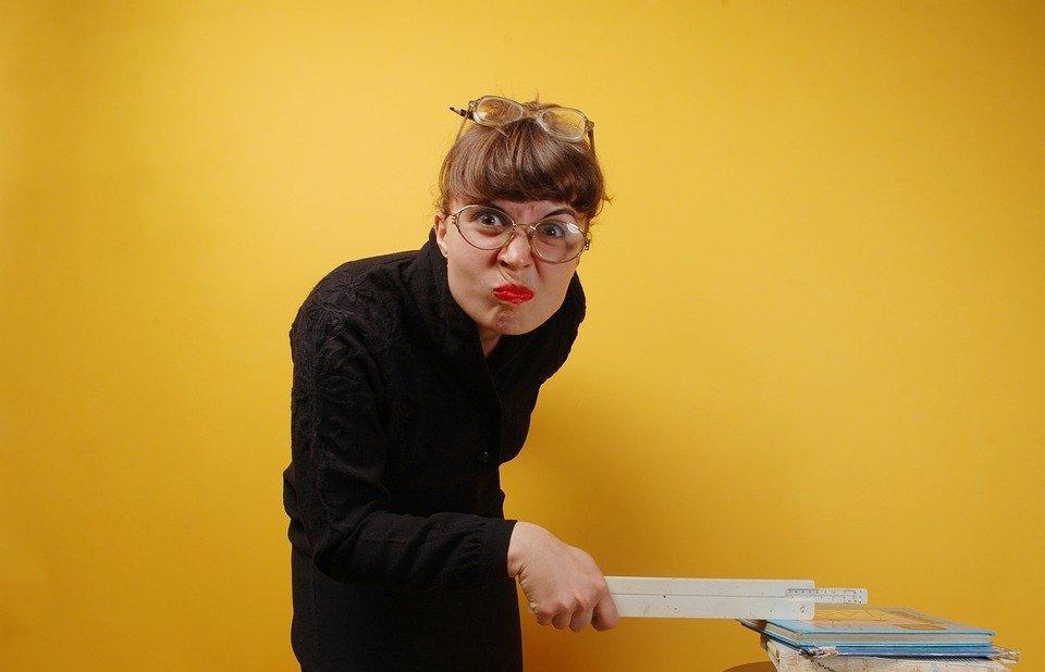 the teacher, kitsch, humor