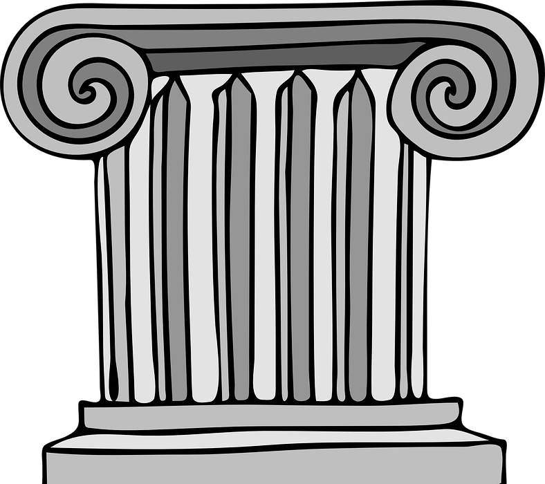 column, building, greek