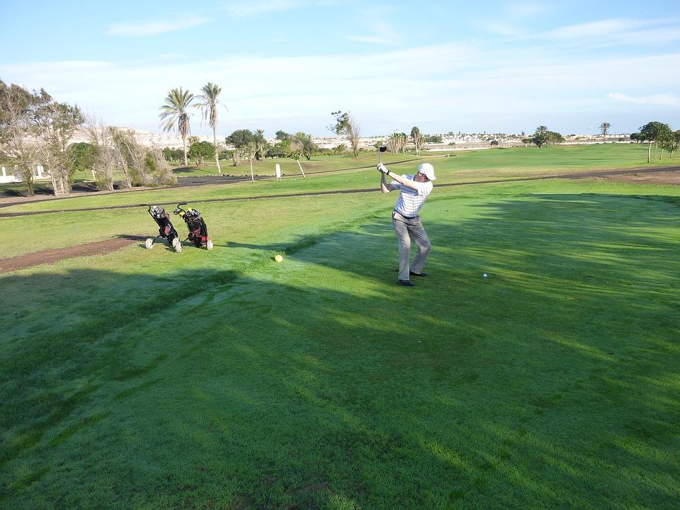golf, fuerteventura, holiday