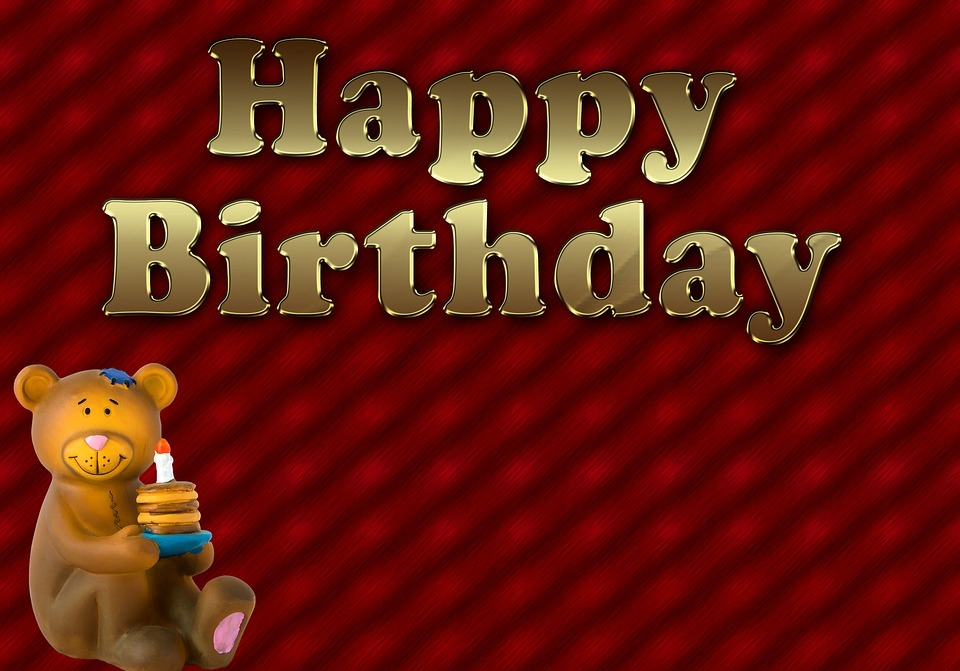 happy birthday, birthday, bear