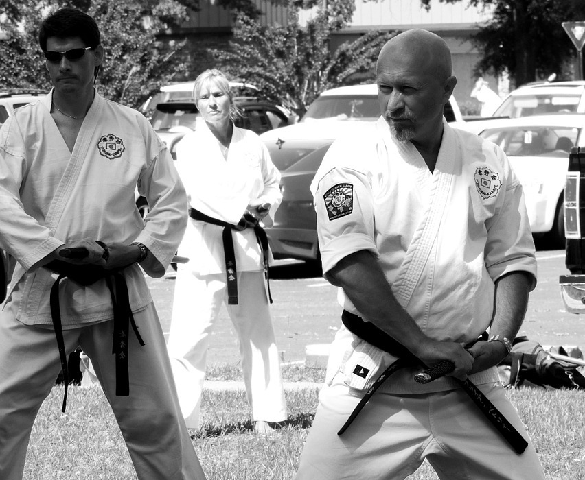 karate, sword, martial arts