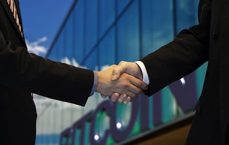 handshake, hands, men
