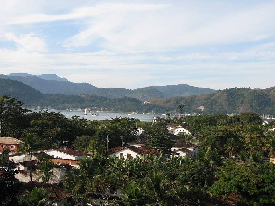 colonial, paraty, brazil