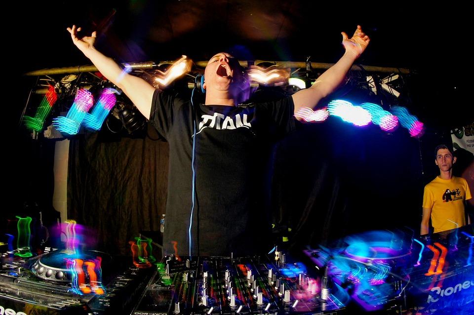 dj, euphoria, party
