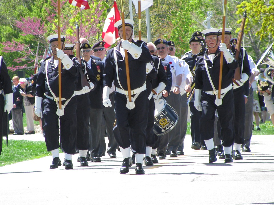 parade, navy, memorial