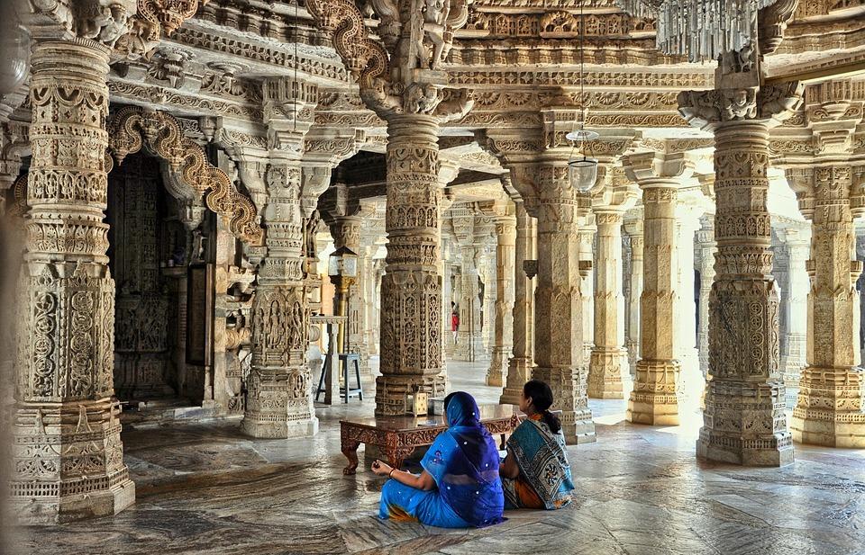 dzinijska temple, religion, prayer