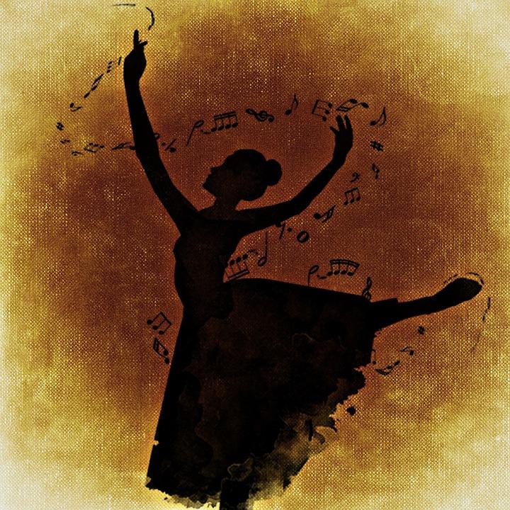 dancer, music, melody
