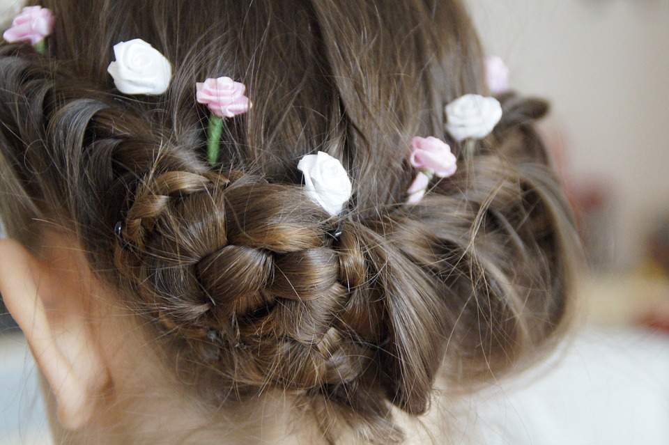 hairstyle, chic, festive