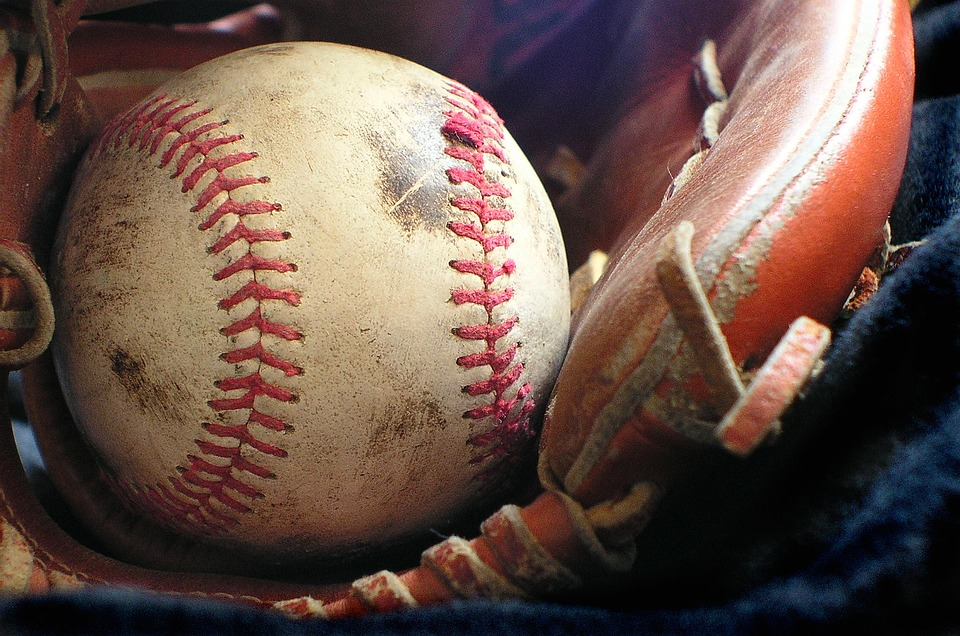 softball, glove, sport