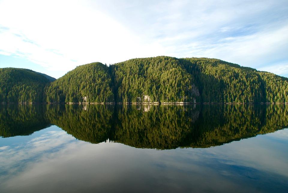 canada, sea, mirroring