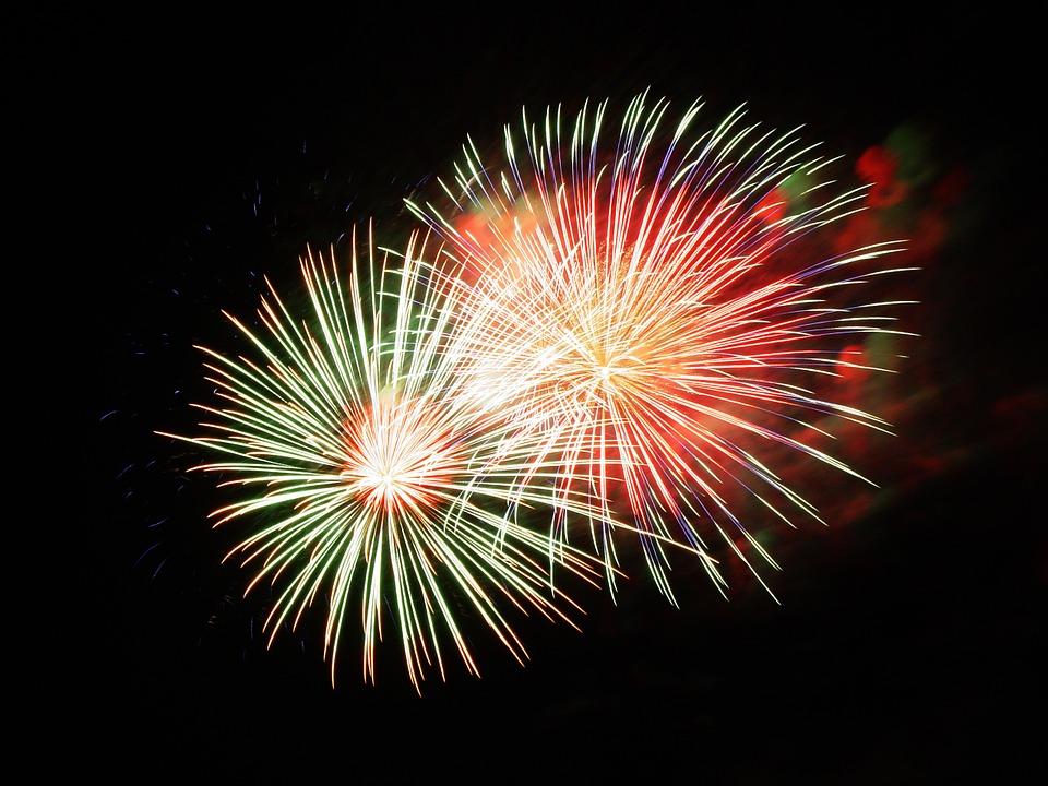 fireworks, pyrotechnics, fireworks art