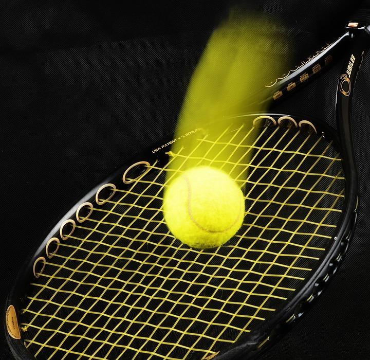 tennis, racket, ball
