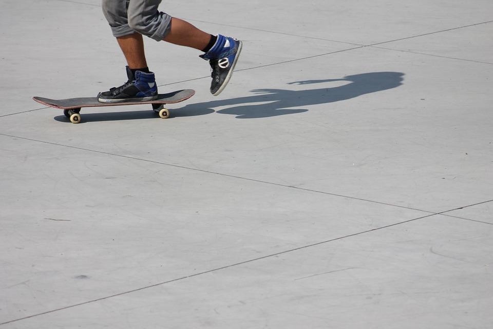 skateboard, skate, skateboarding