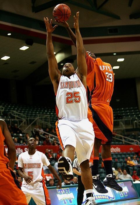 basketball, rebound, action